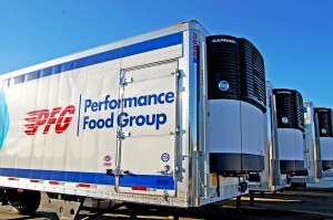 Utility 28' pup trailers and Carrier multitemp refrigeration units