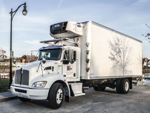 Reefer straight truck small